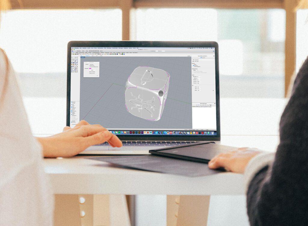 3D-Datei mit Modellfehlern